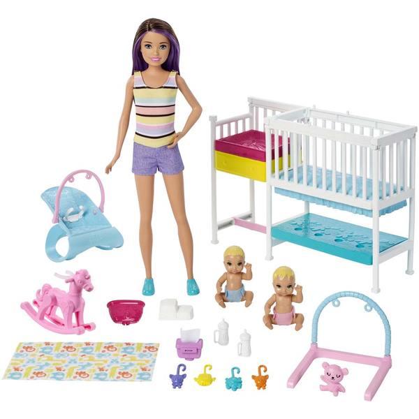 Barbie Skipper chambre jumeaux