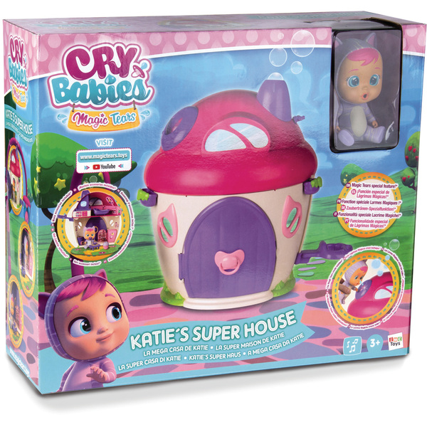 La Super Maison de Katie Cry Babies Magic Tears