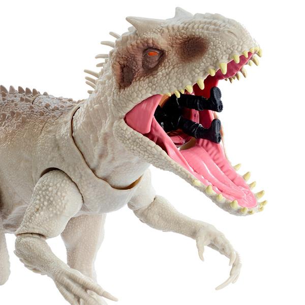 Figurine dinosaure interactif Indominus Rex 60 cm - Jurassic World
