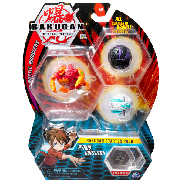Starter Pack Bakugan Battle Planet