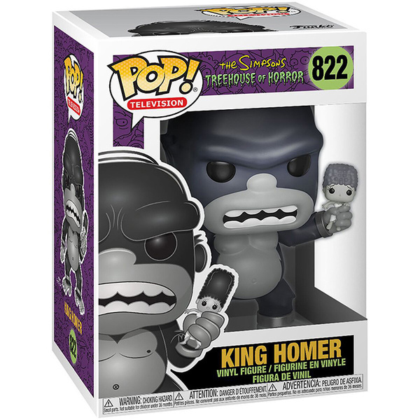 Figurine King Homer 822 The Simpsons Funko Pop