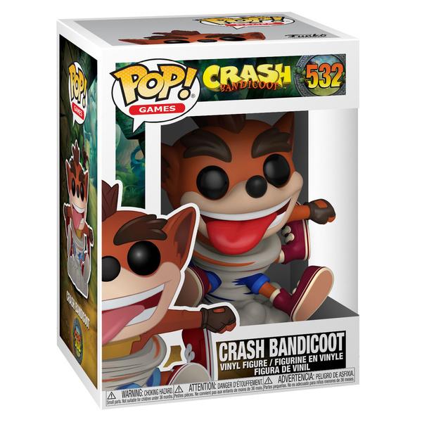 Figurine Crash Bandicoot 532 Funko Pop