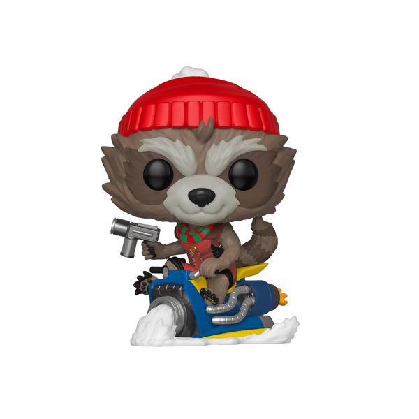 Figurine Rocket Raccoon spécial Noël 531 Funko Pop