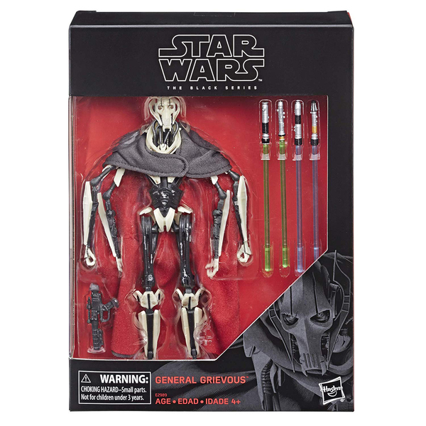 Star Wars Black Series-Figurine Général Grievous 18 cm