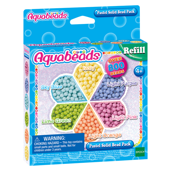 Recharge perles pastels Aquabeads