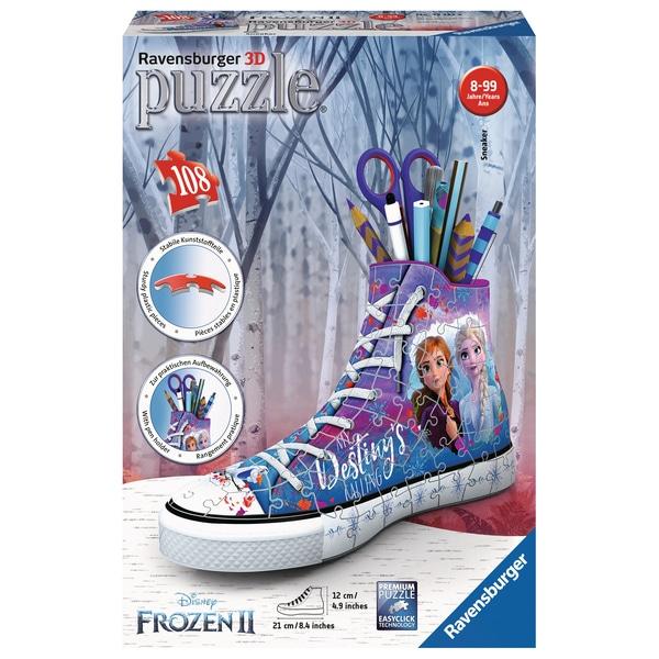 Puzzle 3D Sneaker 108 pièces La Reine des Neiges 2
