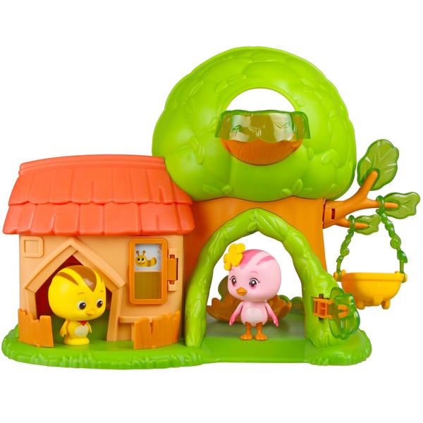 Maison Katuri avec 2 figurines