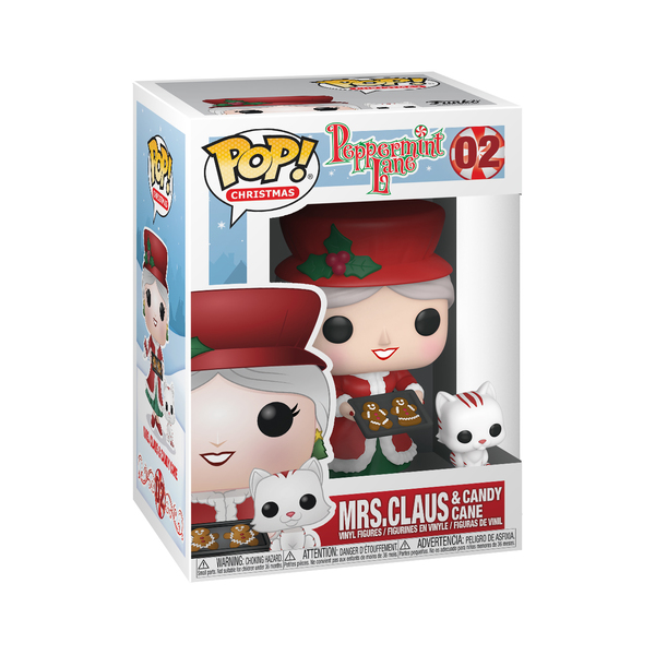 Figurine madame Noël 02 Funko Pop