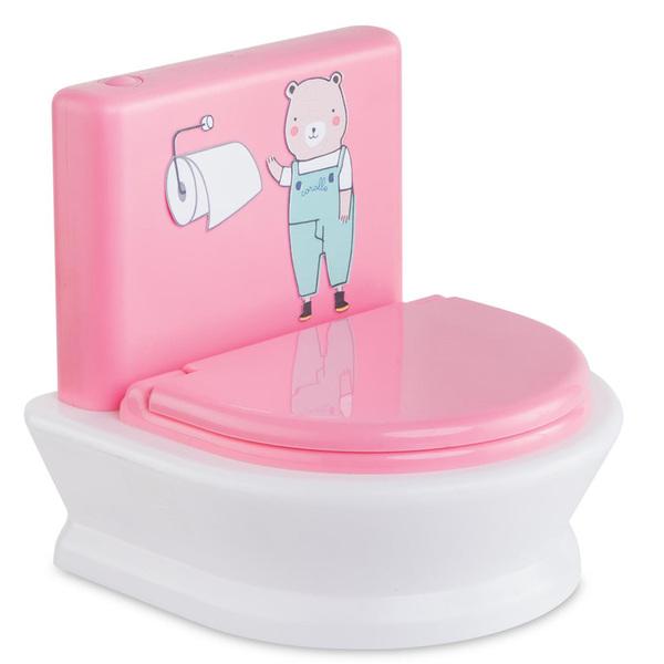 Toilettes interactives pour poupée