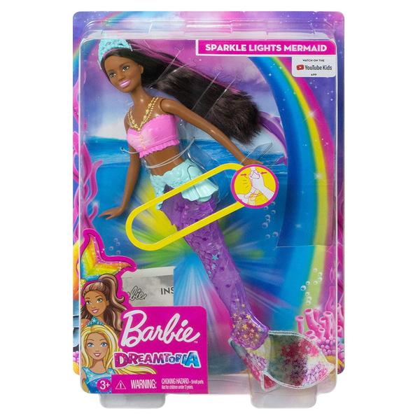 Poupée Barbie Dreamtopia Sirène lumière et danse aquatique
