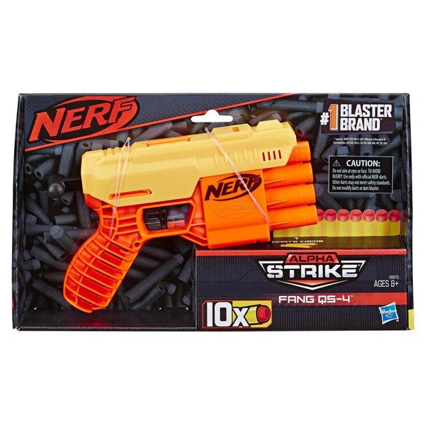 Pistolet Nerf Fang QS-4 - Nerf Alpha Strike