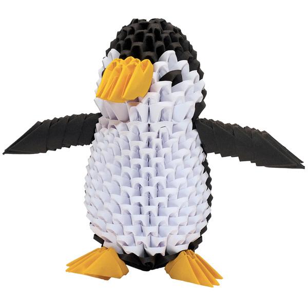 Creagami pingouin origami 3D