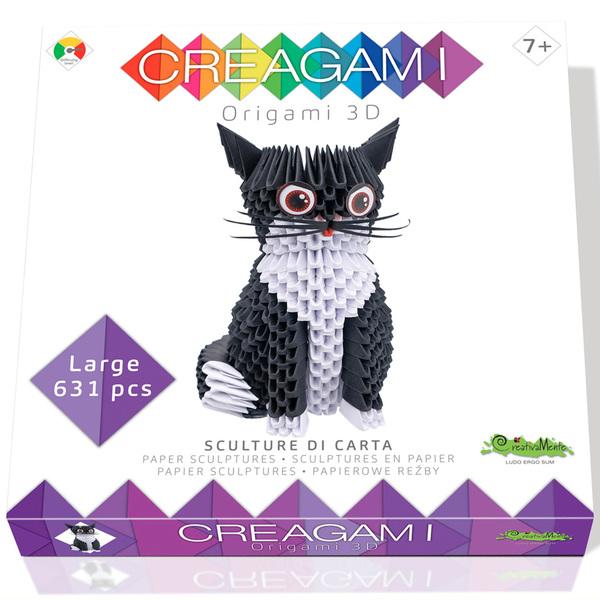 Creagami chat origami 3D