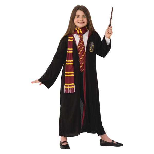 Déguisement Harry Potter robe avec baguette