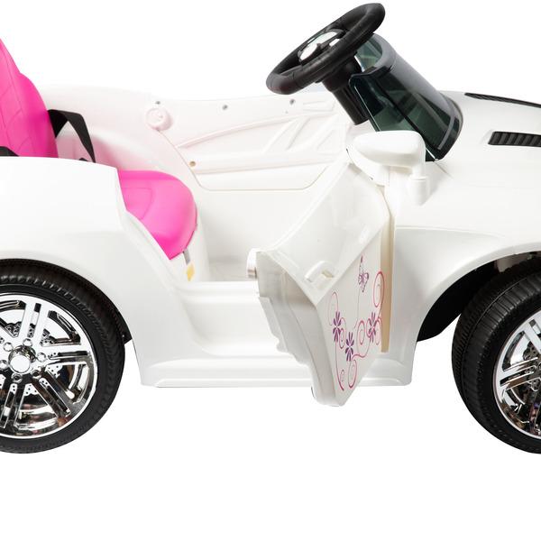 Voiture électrique 6V blanche