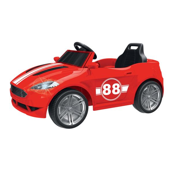 Voiture électrique 6V rouge