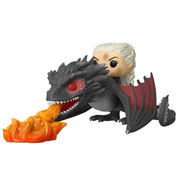 Figurines Daenerys avec dragon 68 Game of Thrones Funko Pop