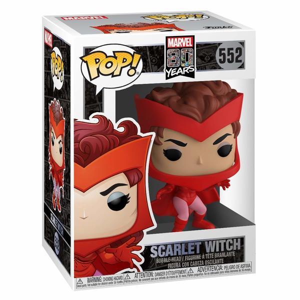 Figurine Scarlett Witch - 80 ans de Marvel - Funko Pop