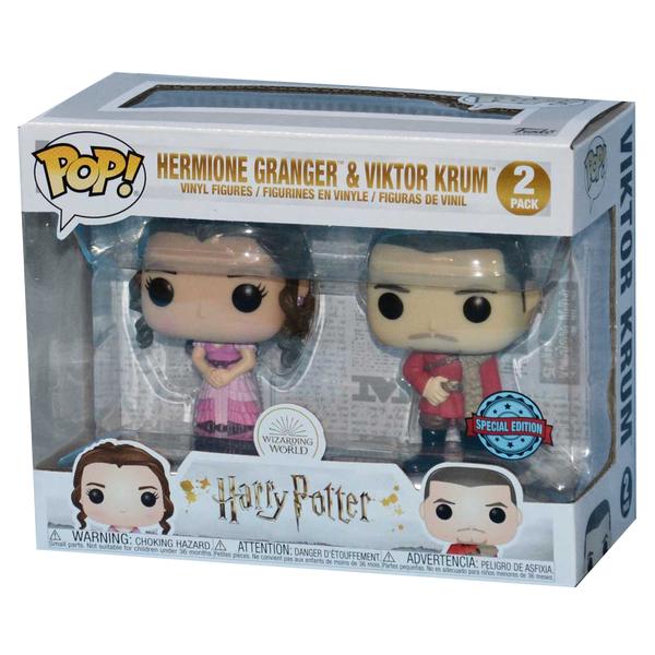 Figurines Hermione Granger et Viktor Krum Harry Potter