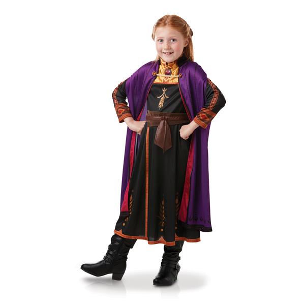 Déguisement classique Anna Reine des Neiges 2 - 7/8 ans