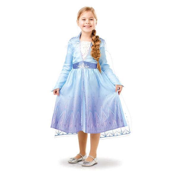 Déguisement classique Elsa Reine des Neiges 2 - 7/8 ans