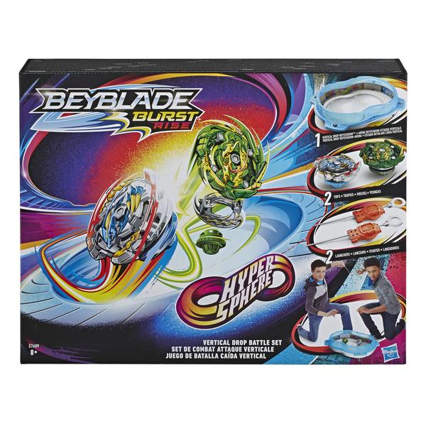 Toupie - Set de combat Hypersphere Beyblade Burst Rise