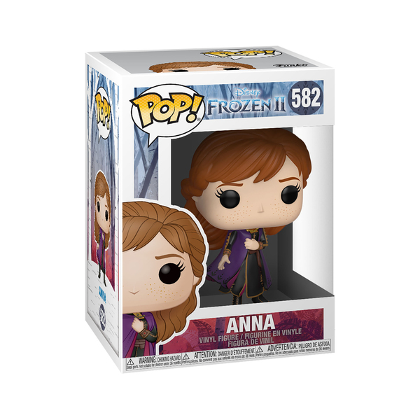 Figurine Anna 582 La Reine des Neiges 2 Funko Pop