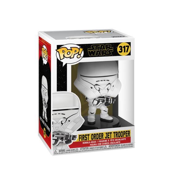 Figurine First Order Jet Trooper 317 Star Wars 9 Funko Pop