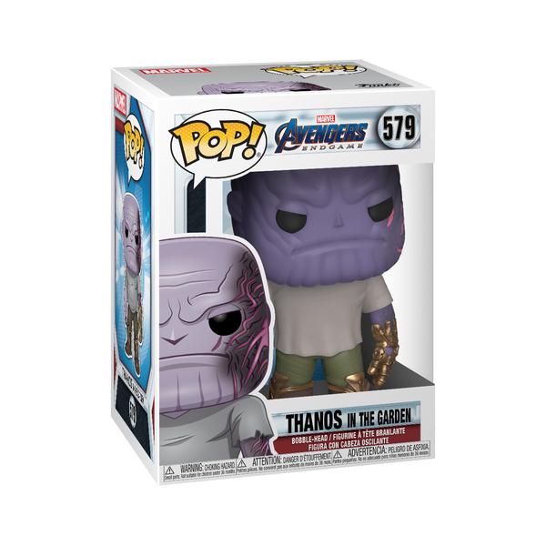 Figurine Thanos dans le jardin 579 Avengers Endgame - Funko Pop