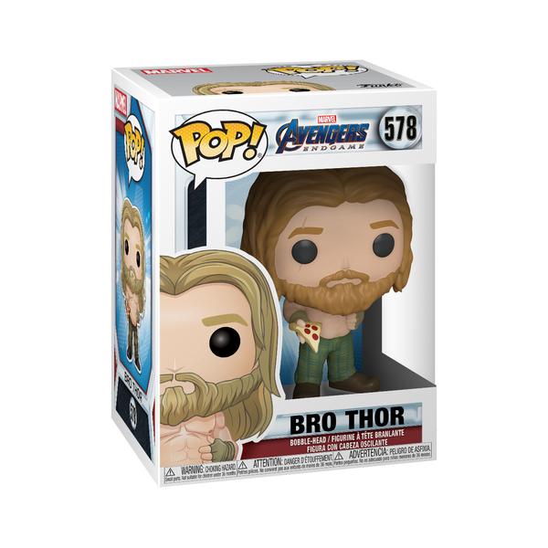 Figurine Bro Thor et sa part de pizza 578 Avengers Endgame Funko Pop