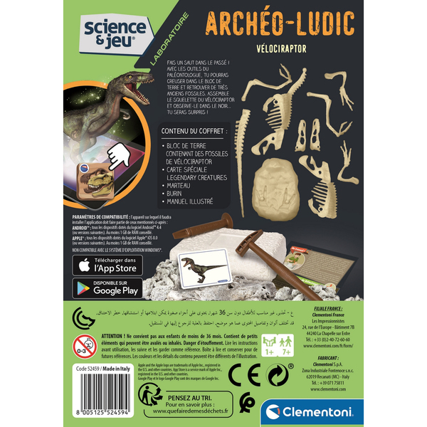Archeo Ludic Vélociraptor