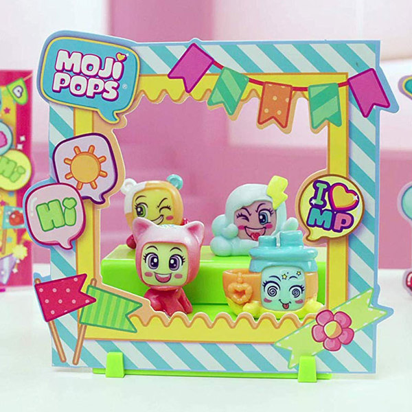 Mojipops - Blister de 4 Mojipops avec photo pop