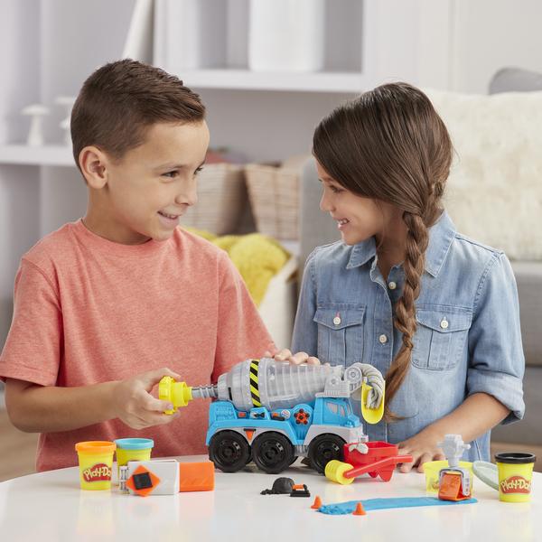 Pâte à modeler - La bétonnière Play-Doh