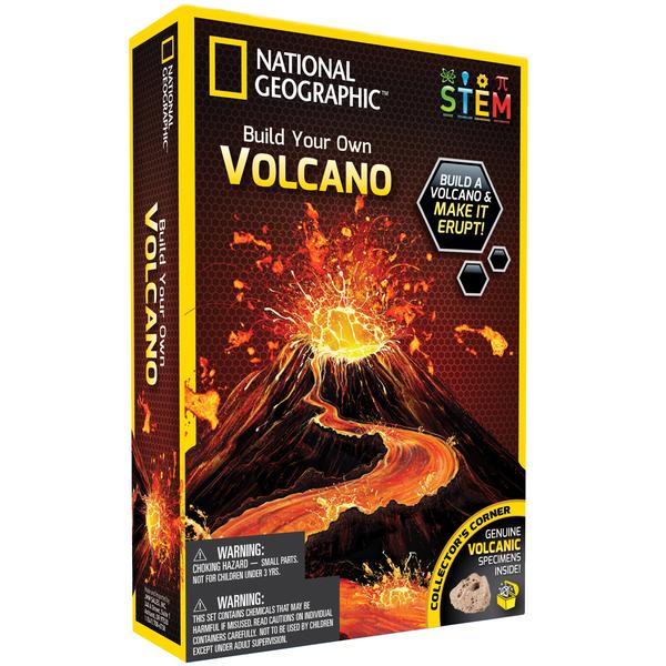 Kit de découverte volcan