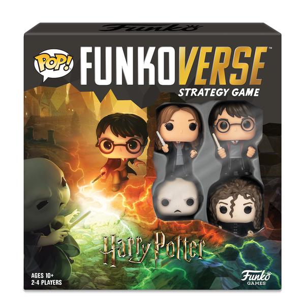 Jeu Funko Pop Harry Potter 4 figurines