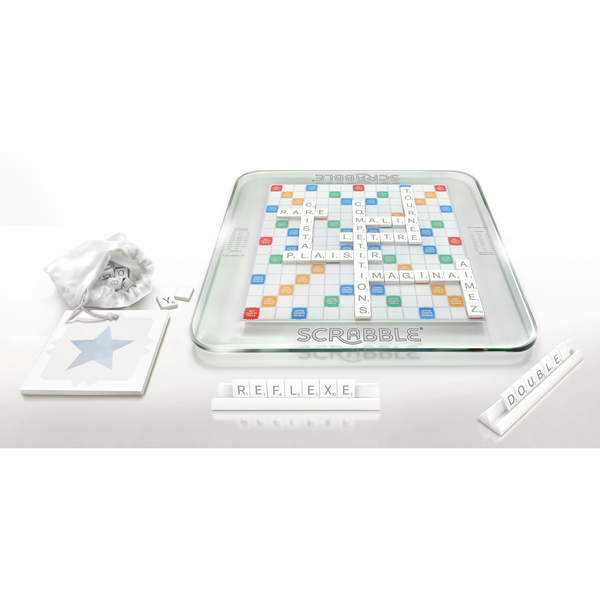 Scrabble édition en verre