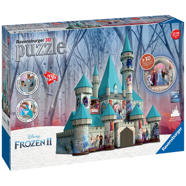 Puzzle 3D Chateau d'Arendelle 216 pièces La Reine des Neiges 2