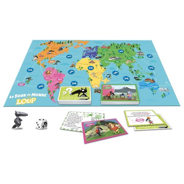 Le tour du monde de Loup - Le jeu
