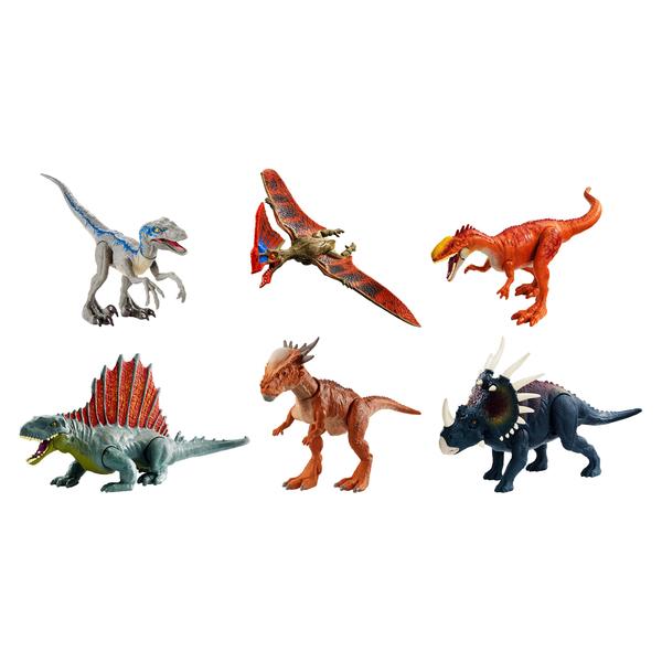 Dinosaure attaque sauvage Jurassic World
