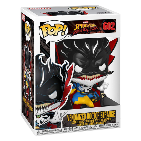 Figurine Marvel Doctor Strange Vénomisé 602 Funko Pop