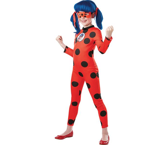 Déguisement Miraculous Ladybug avec Tikki 7/8 ans