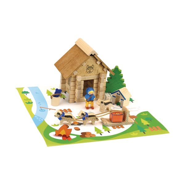Maison du Musher en bois 50 pièces