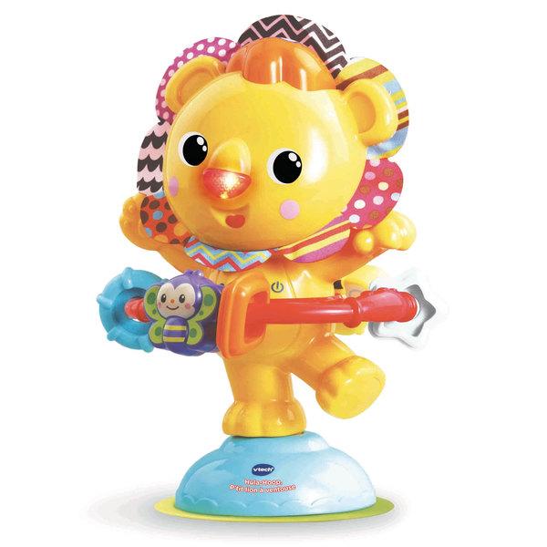 Hochet Hula-Hoop p'tit lion à ventouse