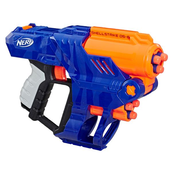 Pistolet Nerf Elite Shellstrike DS-6