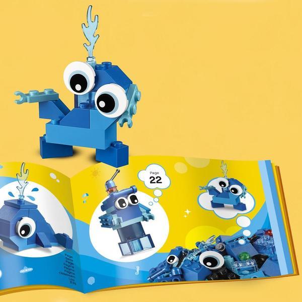 11006 - LEGO® Classic briques créatives bleues