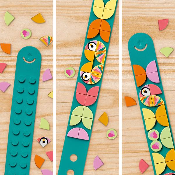 41912 - LEGO® DOTS - Le bracelet oiseaux amoureux
