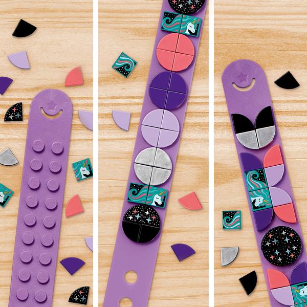41902 - LEGO® DOTS - Le bracelet Licorne à paillettes