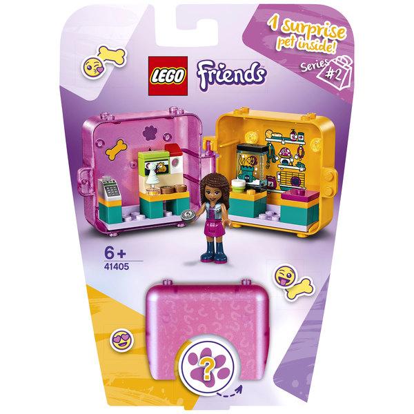 41405 - LEGO® Friends - Le cube de jeu shopping d'Andréa