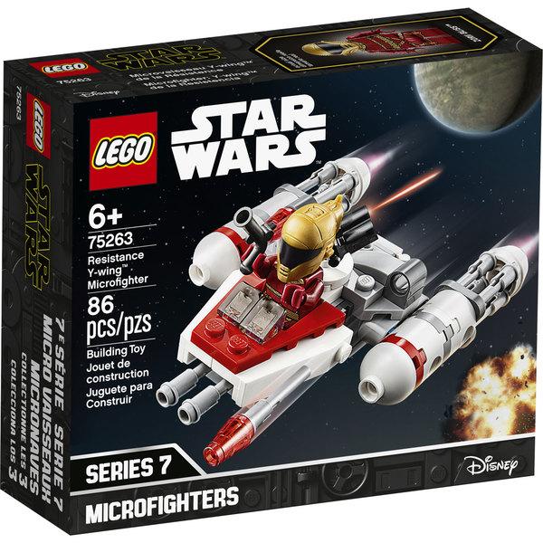 75263-LEGO® Star Wars Microfighter Y-Wing de la Résistance