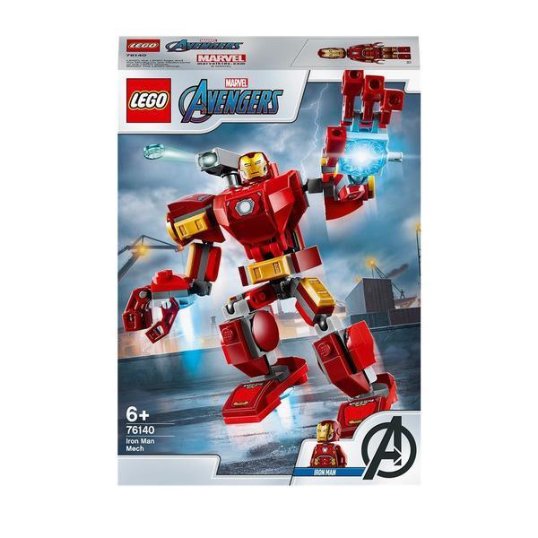 76140-LEGO® Marvel Super Heroes - Le robot d'Iron Man